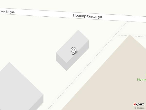 Магазин овощей и фруктов на карте Саратова
