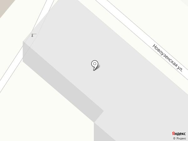 Саратовский автобусный парк на карте Саратова
