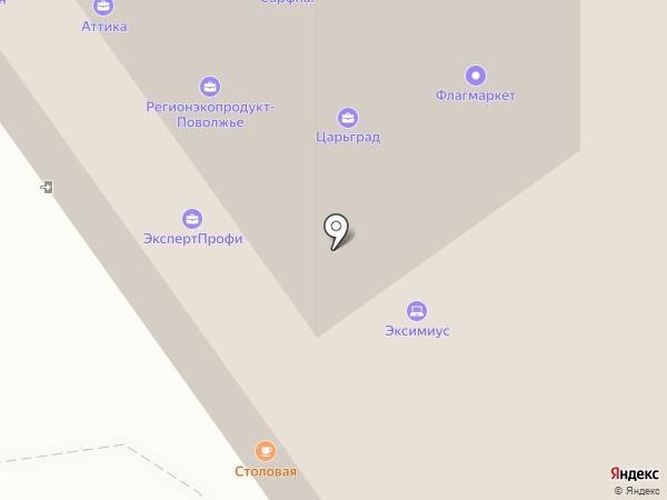 Стройресурс на карте Саратова