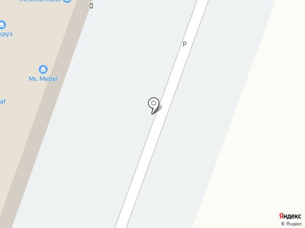Лазурит на карте Саратова