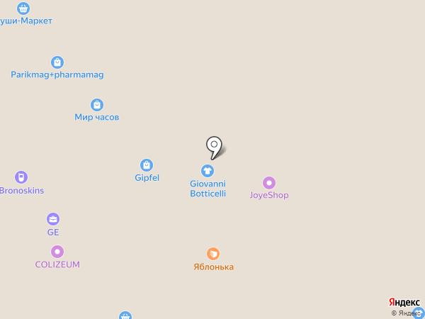 Орешки-люкс на карте Саратова