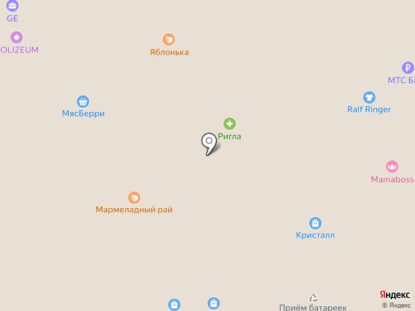 С иголочки на карте Саратова