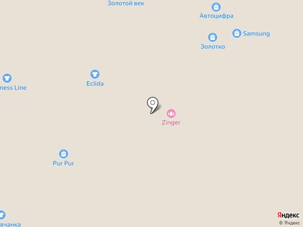 Тёплое дерево на карте Саратова