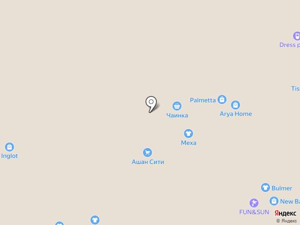 Rinascimento на карте Саратова
