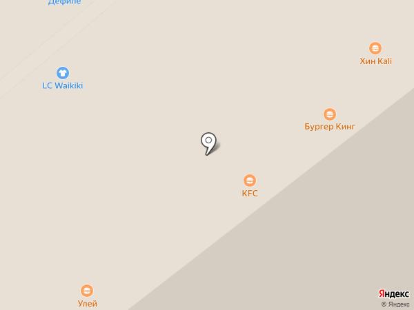 Айкрафт на карте Саратова