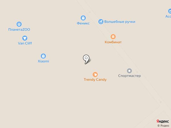 Luhta на карте Саратова