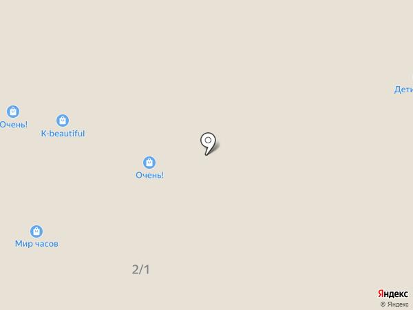 Мир часов на карте Саратова
