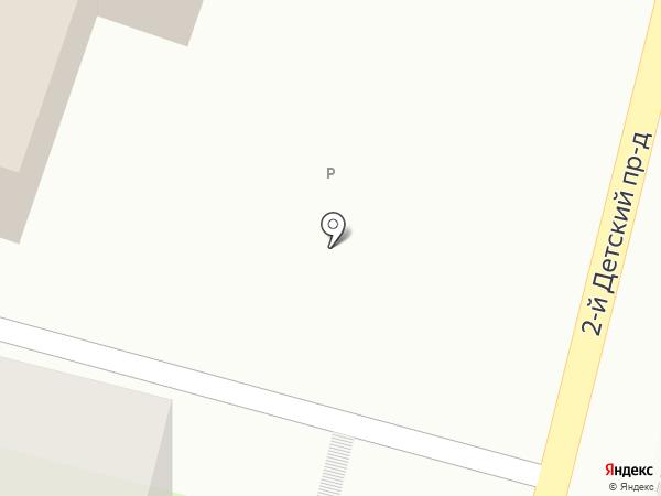 Дельта на карте Саратова