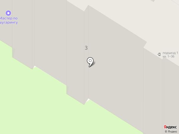 Квартирное бюро на карте Саратова