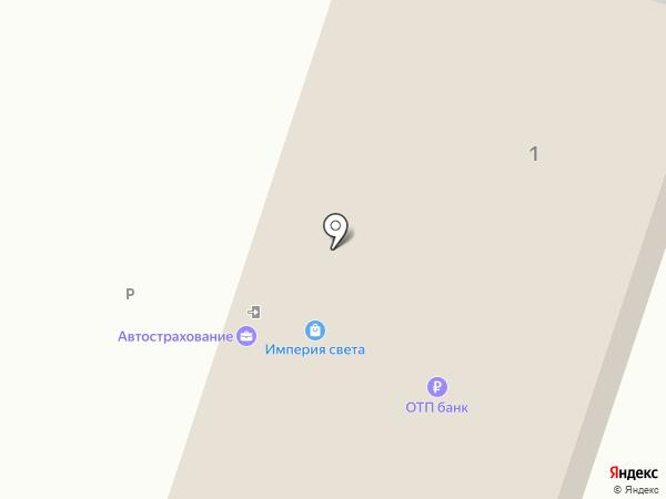 Пункт переоформления автомобилей на карте Саратова
