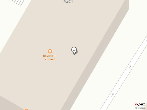 McDonald`s на карте Саратова
