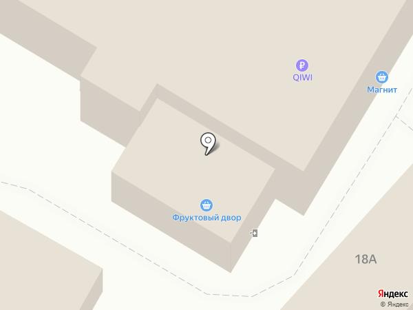 1XBET на карте Саратова