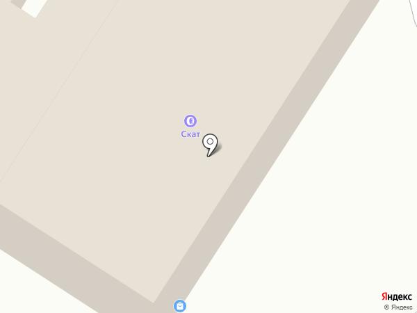Скат на карте Саратова
