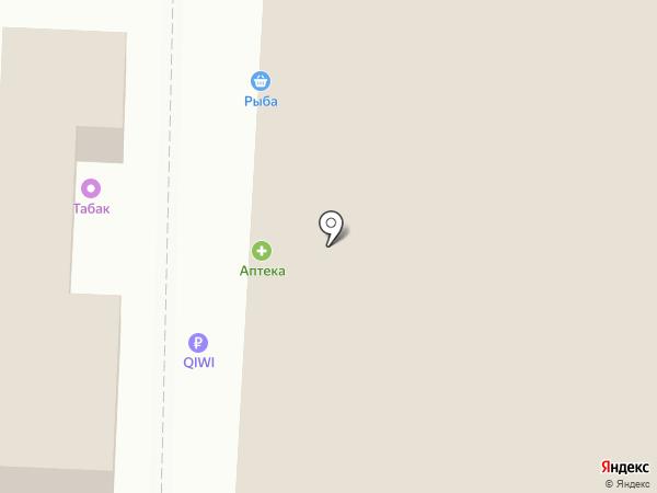 Дымок на карте Саратова