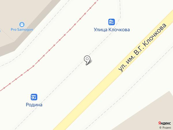 Торговая лавка на карте Саратова