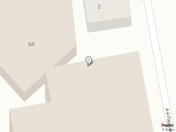 Ригла на карте Саратова