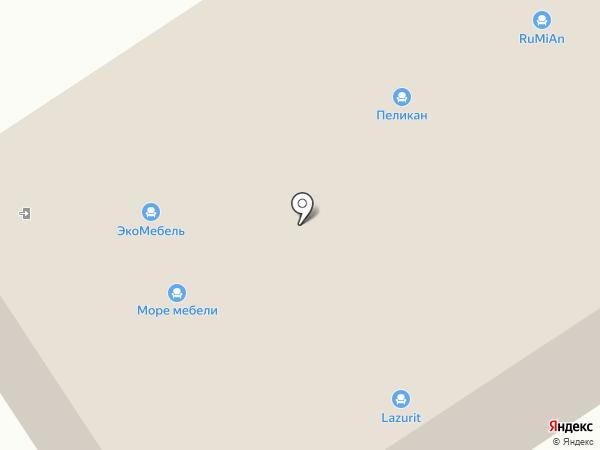 Дятьково на карте Саратова