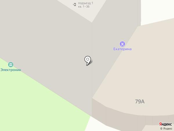 Электроник на карте Саратова