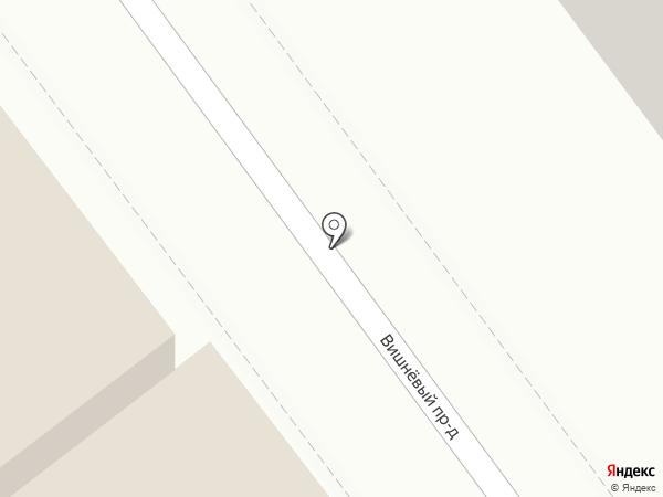 Юниор на карте Саратова