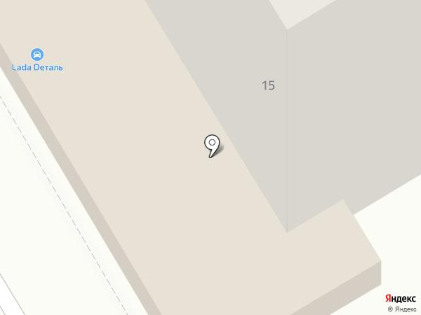 Афина-строй на карте Саратова