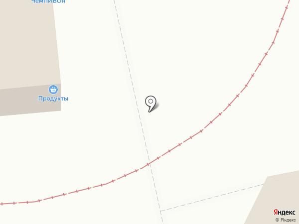 Ноготок на карте Саратова