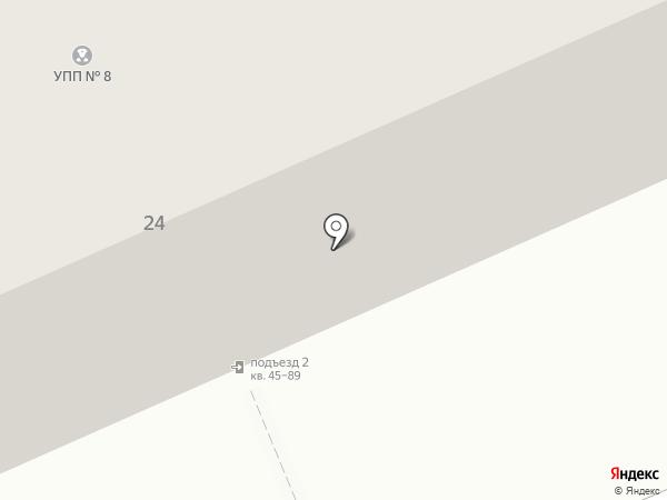 Участковый пункт полиции №8, Отдел полиции №3 на карте Саратова