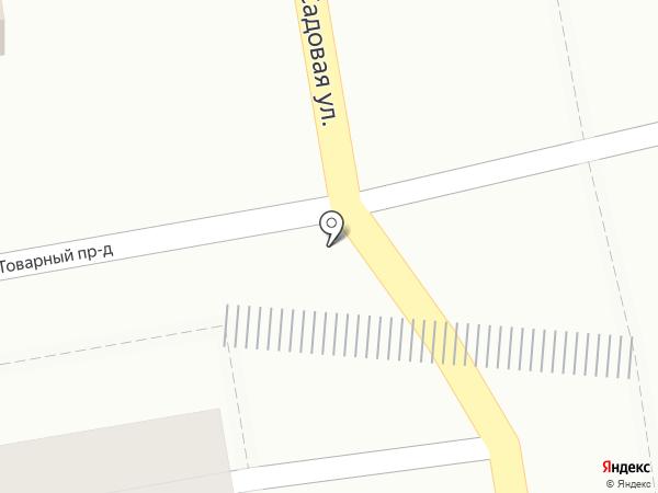 Бир Бирыч на карте Саратова