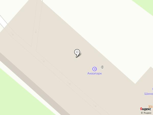 Аквабайк на карте Саратова