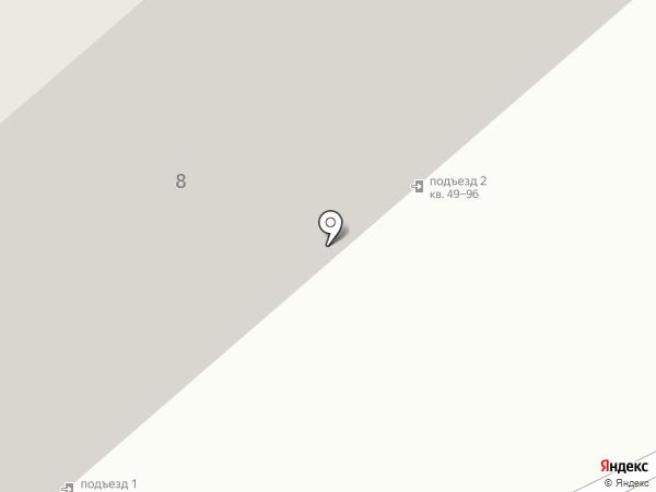 Милая Моя на карте Саратова