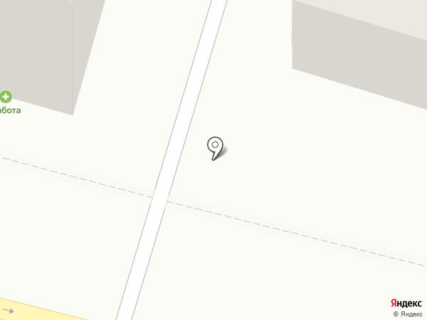 Одна тонна на карте Саратова