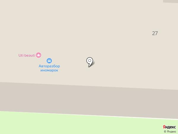Союз Автоснаб на карте Саратова