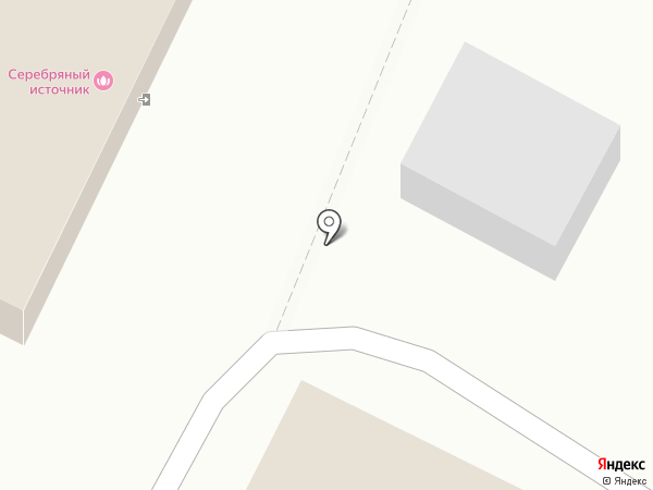 Серебряный Источник на карте Саратова