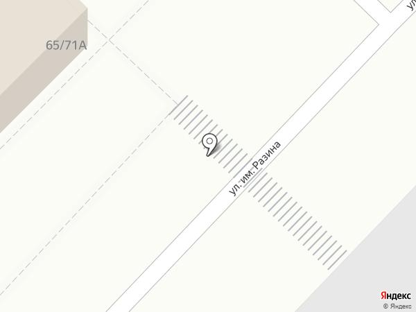 Ателье по ремонту одежды на карте Саратова