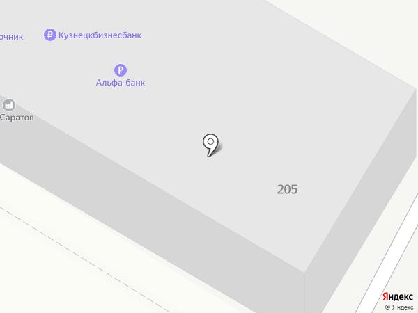 Электроисточник на карте Саратова