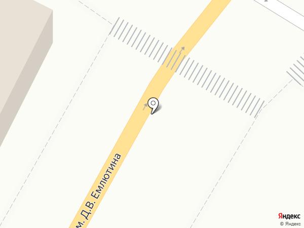Авточехлы на карте Саратова