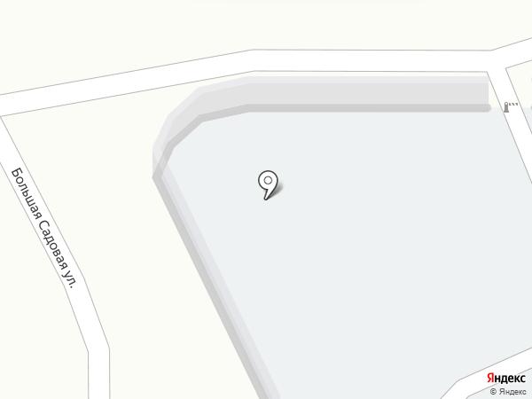 Автостоянка на Береговом 7-м проезде на карте Саратова