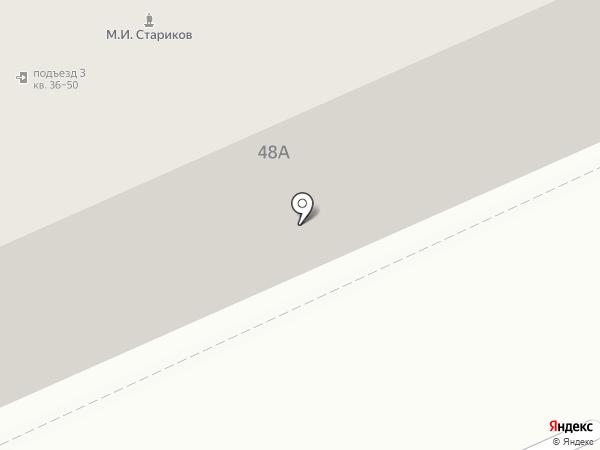 Анаэль на карте Саратова