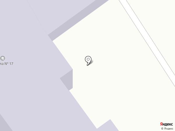 Средняя общеобразовательная школа №17 на карте Саратова