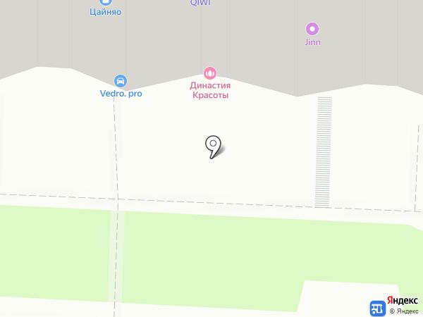 Тонус на карте Саратова
