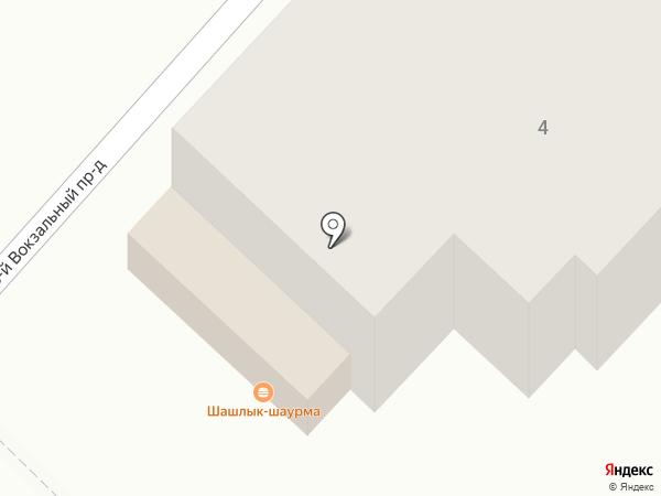 Горячий лаваш на карте Саратова
