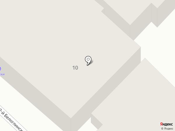 У Лёхи на карте Саратова