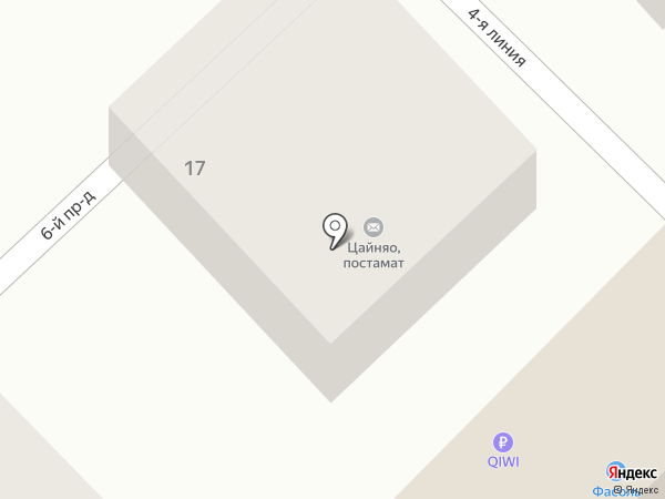 Авоська на карте Саратова