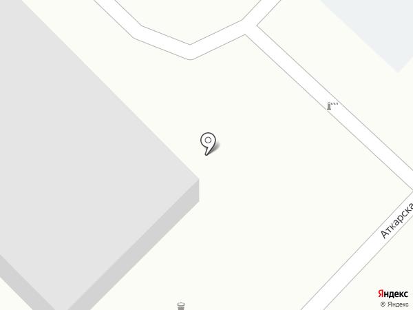 Покровские Сухие Смеси на карте Саратова