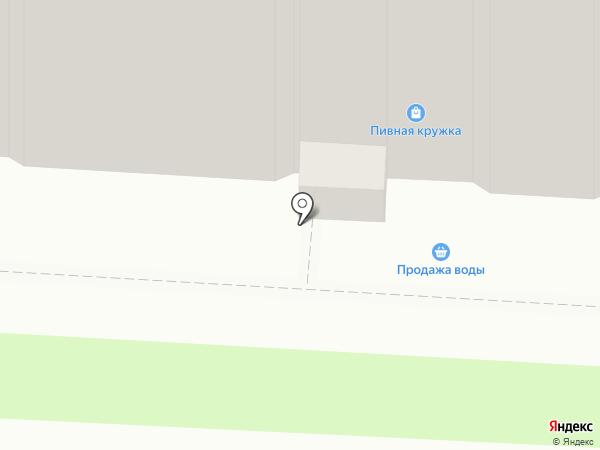 Пивная кружка на карте Саратова