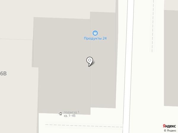 Экспресс Панда на карте Саратова