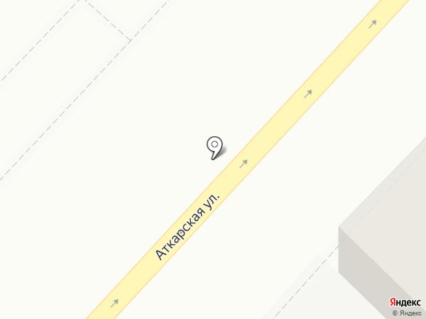 Центр медицинских осмотров на карте Саратова