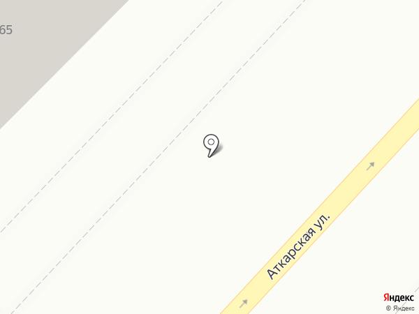 АСТЭК-Девелопмент на карте Саратова