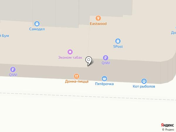 Ривьера на карте Саратова
