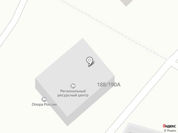 Магазин разливного пива на карте Саратова