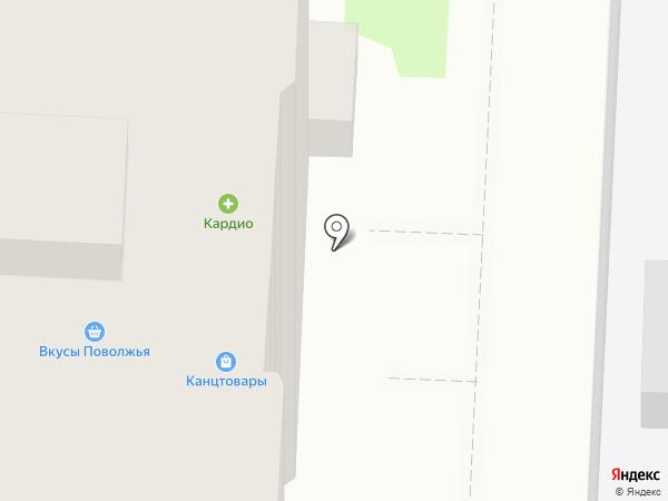 Куриный дворик на карте Саратова